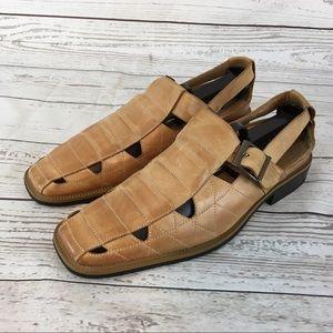 Men's Stacey Adams Black Loafer /Sandal (Size 7.5)